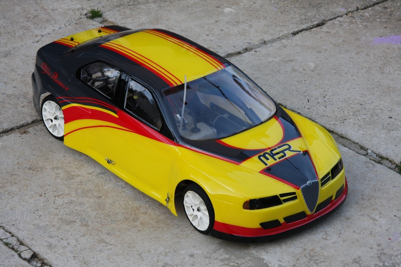 Maketa – Alfa Romeo