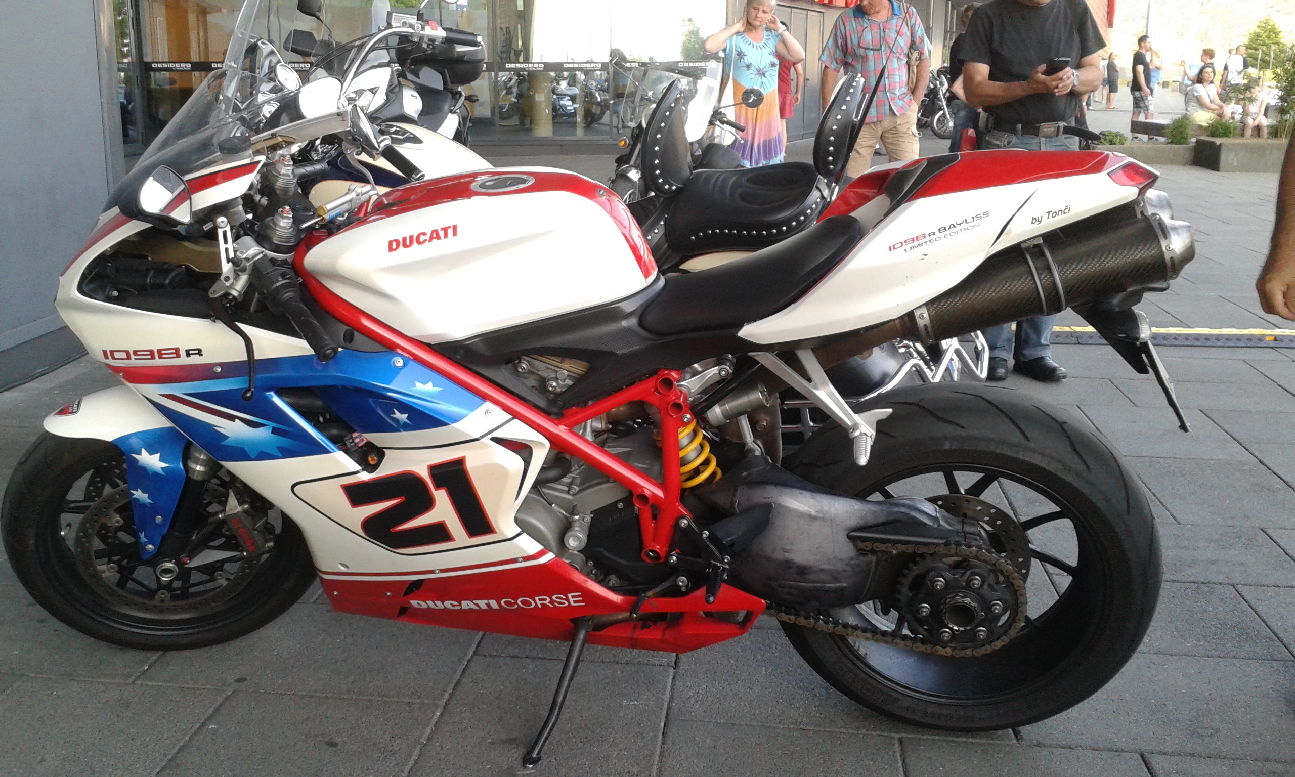 Ducati 1098R Bayliss Limited Edition
